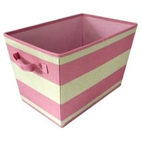 Storage Basket Circo Pink Stripe