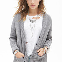 FOREVER 21 Popcorn Knit Cardigan