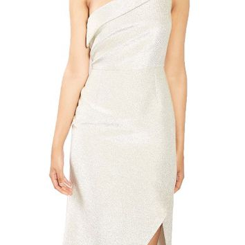 Topshop Tinsel One-Shoulder Dress | Nordstrom