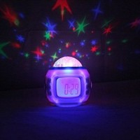 Creative multifunction clock Led electronic clock (red)