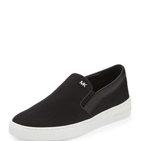 Keaton Sport Satin Slip-On, Black - MICHAEL Michael Kors