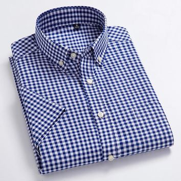 Men's High Quality Oxford Button-Up Dress Shirt
