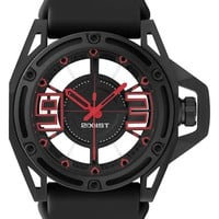 2(x)ist 'The NYC' Transparent 3D Dial Watch, 44mm