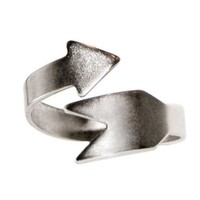 100% Nickel Free Arrow Ring, Movie Inspired, Made in USA!, in Pewter