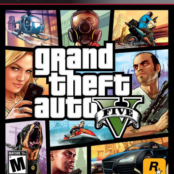 Grand Theft Auto V - Playstation 3 (Very Good)