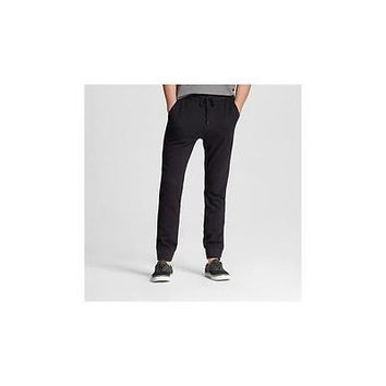 Mossimo Supply Co. Men's Woven Jogger Pants, X-Large, Black