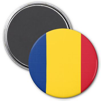Magnet with Flag of Romania