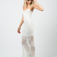 Netted Maxi Dress