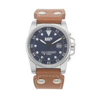 Wrist Armor Watch - Men's Military United States Navy (Brown)