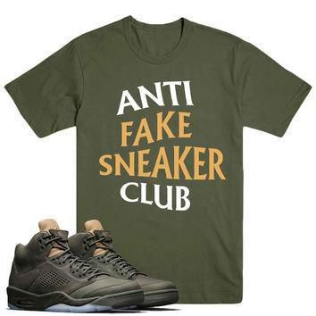 ANTI FSC- Jordan Take Flight 5's Sneaker Match T-Shirt Tees