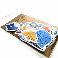 Sea life stickers - mega pack of 36