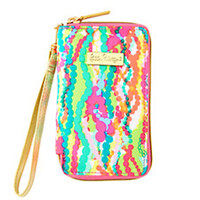 Tiki Palm iPhone 6/6S Wristlet - Lilly Pulitzer