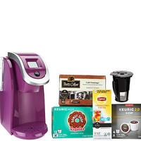 Keurig 2.0 K250 Coffee Maker w/ My K-Cup 29 K-Cup Pods & Filter Kit - K43261 — QVC.com