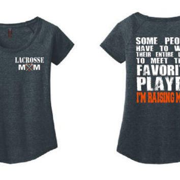 Lacrosse Mom Shirt Lacrosse Shirt Lacrosse Coach Gift Girls lacrosse Lacrosse Gifts Personalized Lacrosse Team Gift Lacrosse Player Lax DM