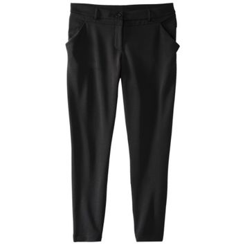 Mossimo® Women's Pique Stretch Pant -Black