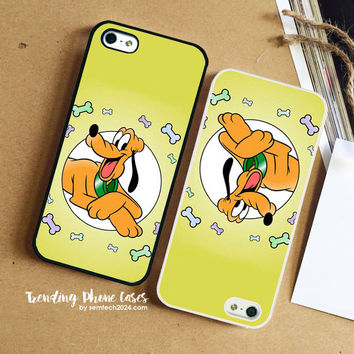 Pluto Disney Mickey Dog  iPhone Case Cover for iPhone 6 6 Plus 5s 5 5c 4s 4 Case