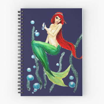 little mermaid in the sea by ColorandColor
