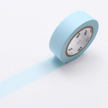 mt Washi Tape Single Pastel Powder Blue