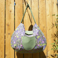 London Garden Le Croissant Sac Collection Hobo Style Large Shoulder Bag