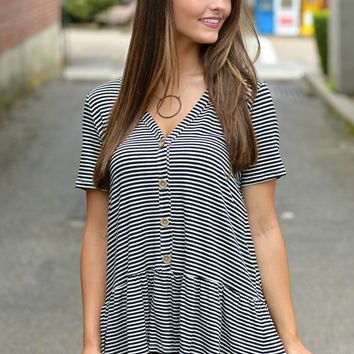 Famous Life Stripe Top
