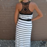 Piace Boutique - Never Looking Back Maxi in Dresses