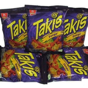 Barcel Chips Takis Fuego 4 Oz Bag