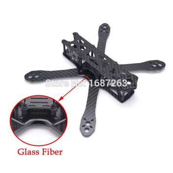 Alien FPV Quadcopter Frame Kit 225mm 225 Carbon Fiber DIY Cross RC Racing Drone 4mm * 2mm * 1.5mm better than Martian II 220