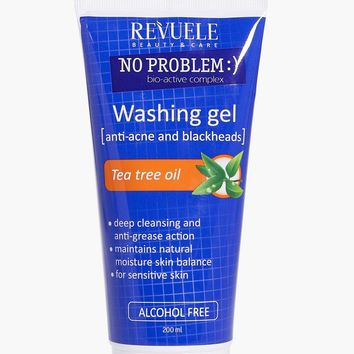 Washing Gel With Tea Tree Oil For Blemishes   Boohoo