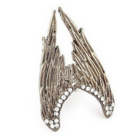 Fashion Wings Ring(Random Color,Size 9)