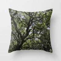 White Point Gardens Throw Pillow by Mary Andrews