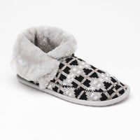 Unleashed by Rocket Dog Skijump Winter Games Knit Bootie Slippers