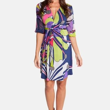 Women's Olian Print Maternity Dress,