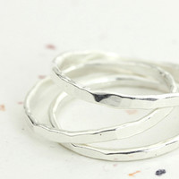 Sparkly Stack Rings