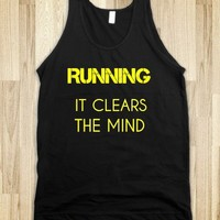 RUNNING:IT CLEARS THE MIND - glamfoxx.com