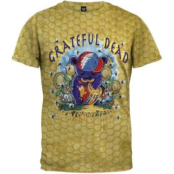 CUPUPWL Grateful Dead - Honeypot Bear T-Shirt