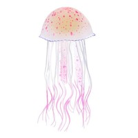 Swimming Pool beach Silicone Artificial Jellyfish Glow In The Dark Swim Fish Tank Aquarium Decoration AccessorieSwimming Pool beach KO_14_1