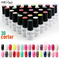 MeiLai Nail Gel Polish UV LED 30 Colors 6ML Long Lasting Soak Off Varnish Cheap Manicure