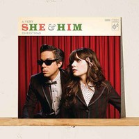 She & Him - A Very She & Him Christmas LP + MP3