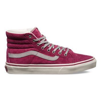 Vans Scotchgard™ SK8-Hi Slim (wine/marshmallow)
