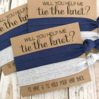 Will you help me Tie the Knot | Bridesmaid Proposal | To have and to hold