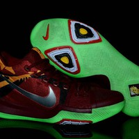 Newest 2018 Kyrie Irving Nike New Shoes Kyrie 3 Cavs Color Glow In The Dark Green Glow Brand sneaker