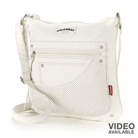 Unionbay Perforated Layered Crossbody Bag