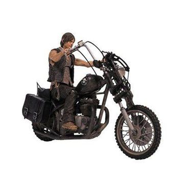McFarlane Toys: The Walking Dead - Deluxe Box Set (Daryl Dixon with Chopper)