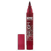 New York Color Smooch Proof Lip Stain, Berry Long Time, 0.1 Fluid Ounce