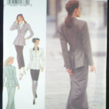 Womans Classic Suit Style Pattern No 2359 Size 8 18 by 7thStash