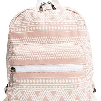 Junior Women's Nila Anthony Geometric Print Backpack