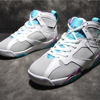 "Air Jordan 7 ""Easter Egg"" Basketball Shoes"