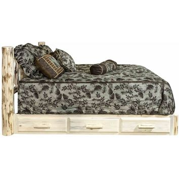 Montana Woodworks - Montana Collection Twin Platform Bed w/ Storage