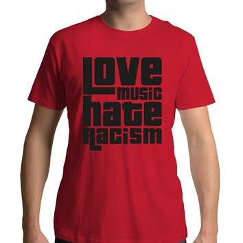 Love Music Hate Racism Shirt Ed Sheeran and James Blunt Wear With Pride #LMHR