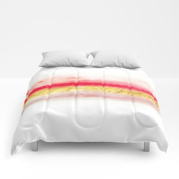 Minimal Expressions 01 Comforters by Marco Gonzalez